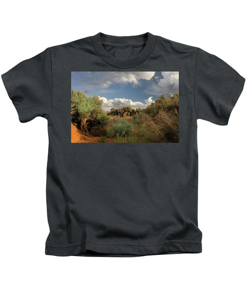 Out On The Mesa 4 Kids T-Shirt