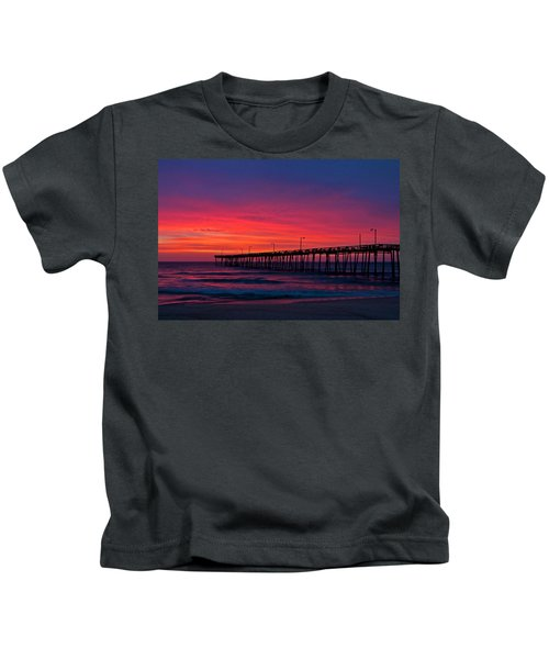 Outer Banks Sunrise Kids T-Shirt