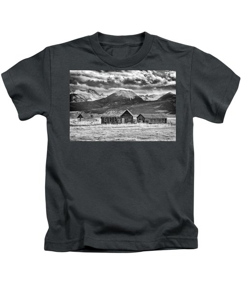 Outliers In Monochrome Kids T-Shirt