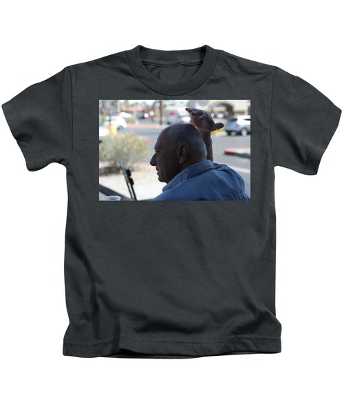 Outside The Cafe Kids T-Shirt