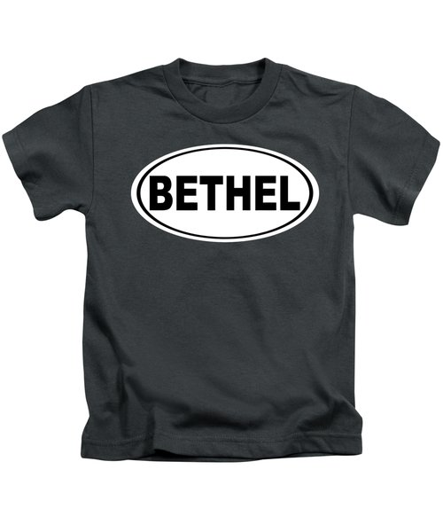Oval Bethel Connecticut Home Prid Kids T-Shirt