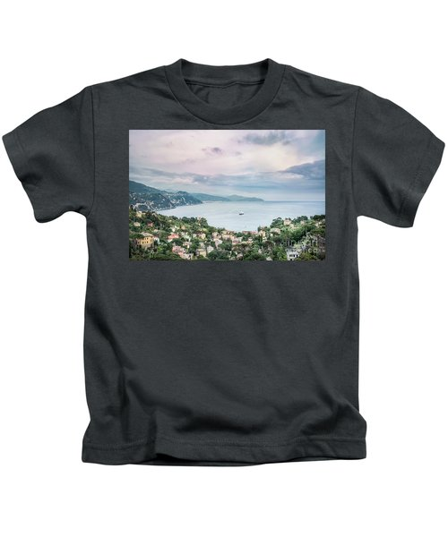 Over The Mountains And Into The Sea Kids T-Shirt