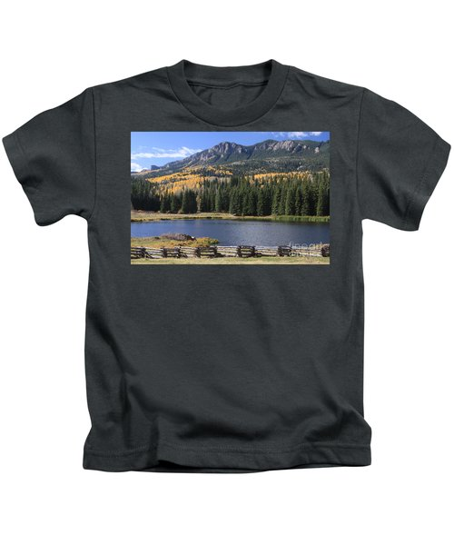 Beaver Lake - Owl Creek Pass   Kids T-Shirt