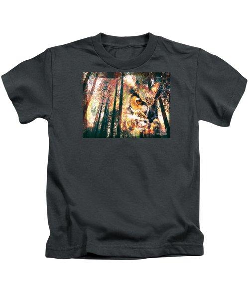 Owl Medicine 2015 Kids T-Shirt