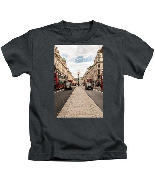 Oxford Street In London Kids T-Shirt