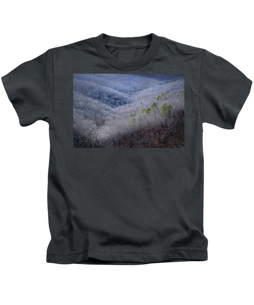 Ozarks Trees #4 Kids T-Shirt