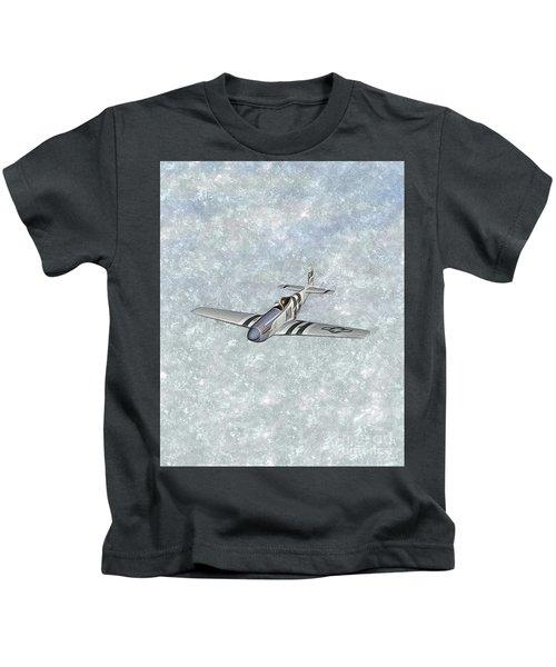 P-51 Mustang Fighter Kids T-Shirt