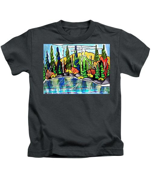 Pacific Coast Forest Kids T-Shirt