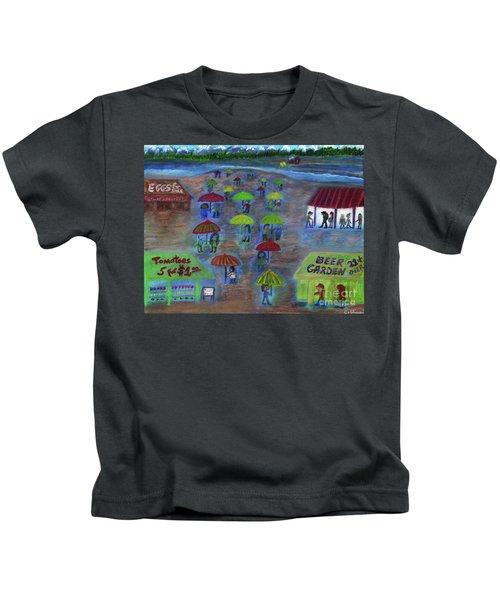 Pacific Northwest Farmer's Market Kids T-Shirt