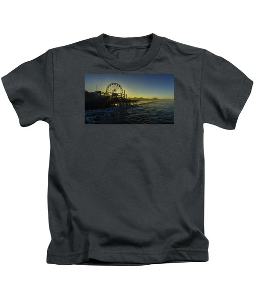 Pacific Park Ferris Wheel Kids T-Shirt