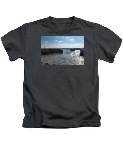 Padstow Harbour Kids T-Shirt