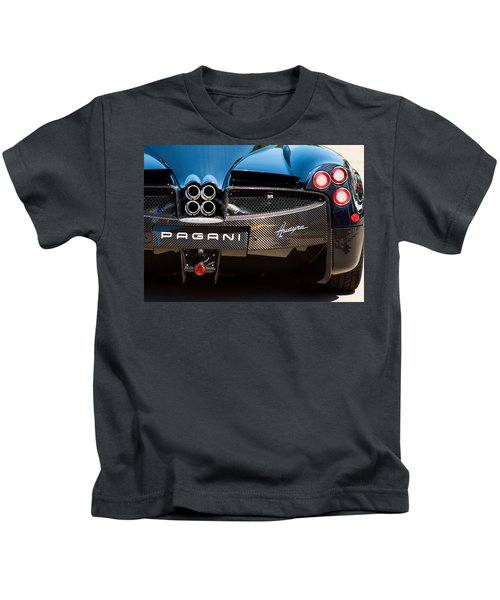 Pagani Huayra Black Kids T-Shirt