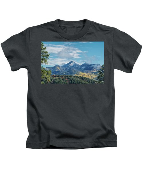 Pagosa Peak Autumn 2014 Kids T-Shirt