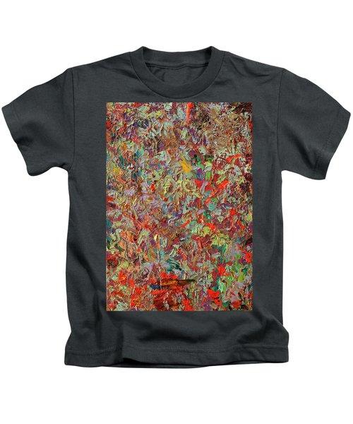Paint Number 33 Kids T-Shirt