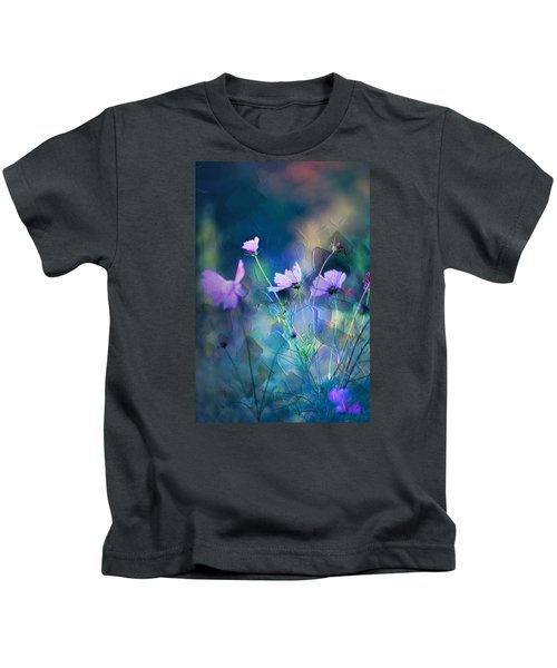 Painted Flowers Kids T-Shirt