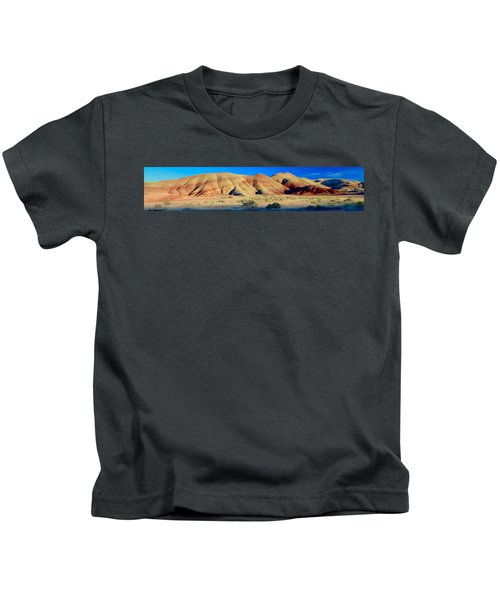 Painted Hills Extreme Pano  Kids T-Shirt