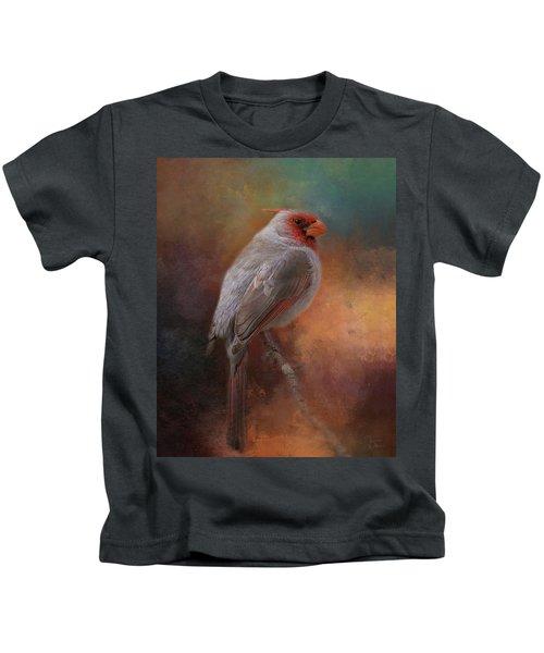 Painted Pyrrhuloxia Kids T-Shirt