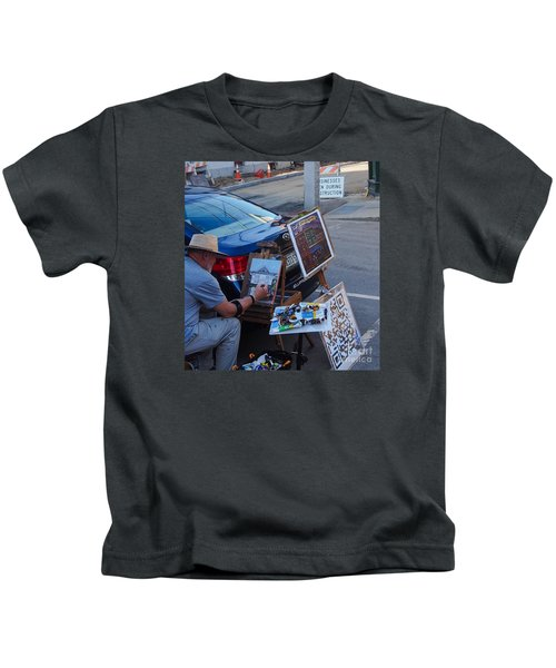 Painting Penhallow Kids T-Shirt