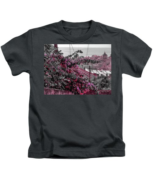 Painting The Town Red Kids T-Shirt