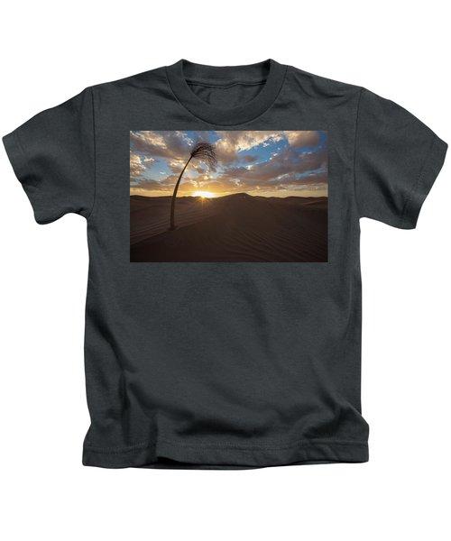 Palm On Dune Kids T-Shirt
