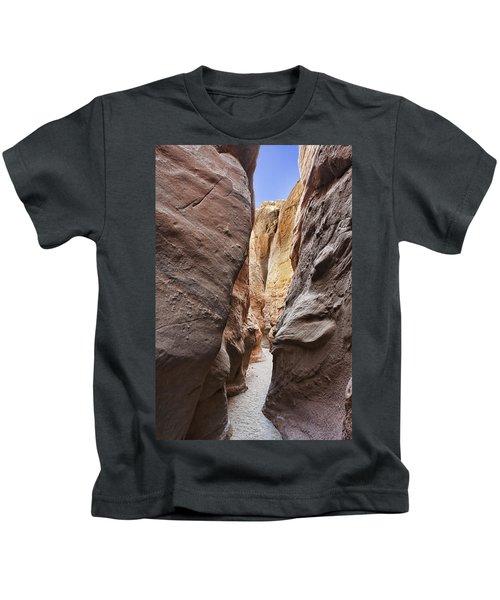 Palm Slot Canyon Kids T-Shirt