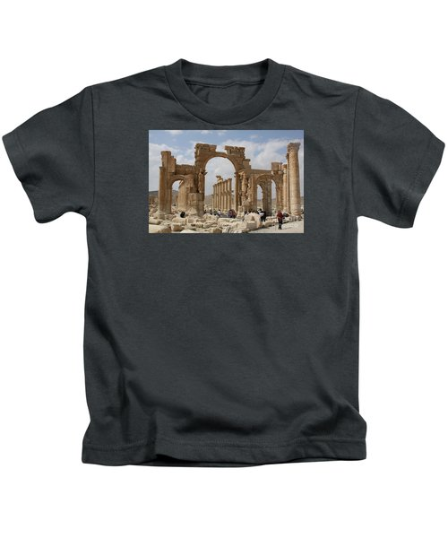 Palmyra Before...triumphal Arch Kids T-Shirt