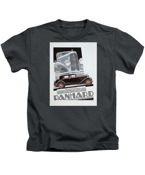 Panhard #8703 Kids T-Shirt