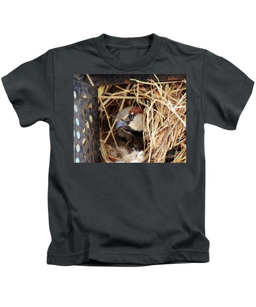 Papa Bird Kids T-Shirt