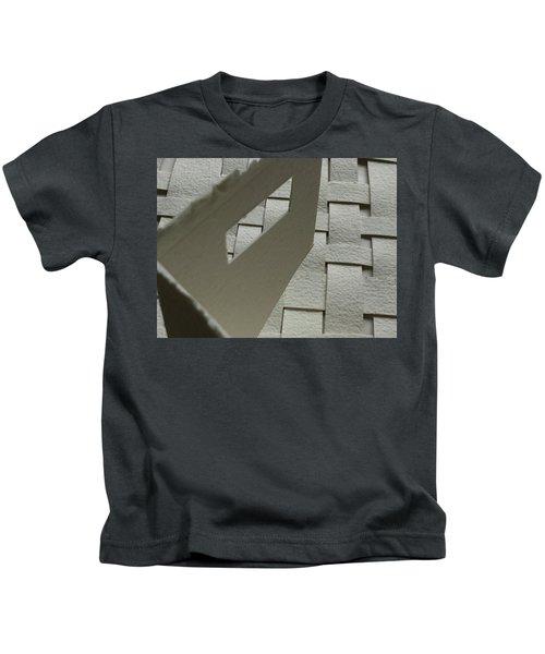 Paper Structure-2 Kids T-Shirt
