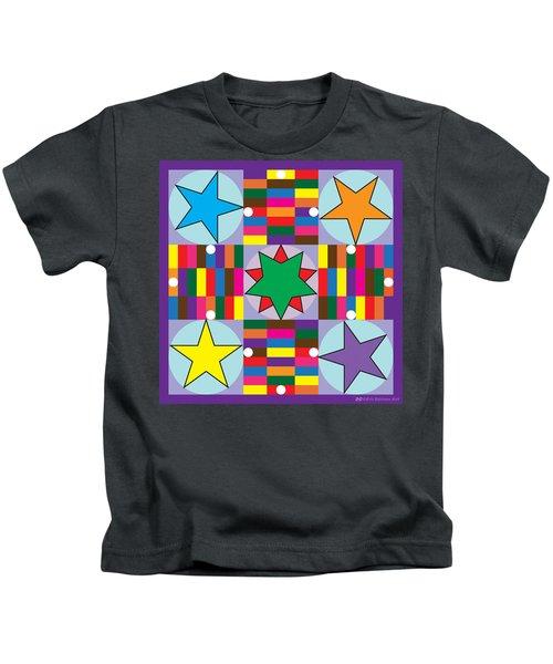 Parcheesi Board Kids T-Shirt