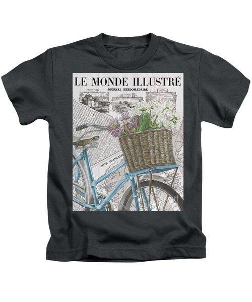Paris Ride 1 Kids T-Shirt