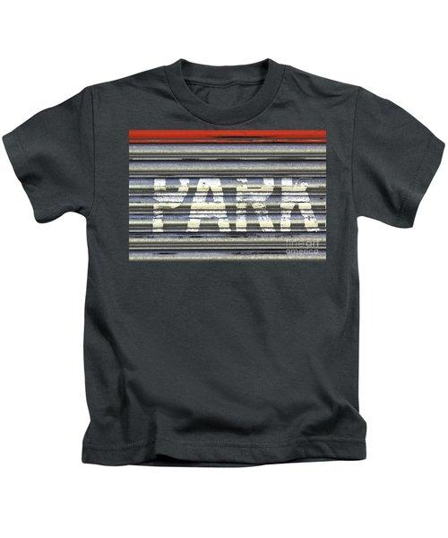 Park Here Kids T-Shirt