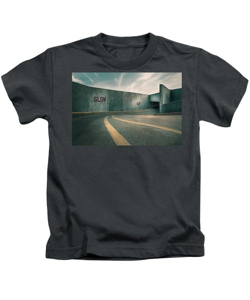 Parking Garage At The End Of The World Kids T-Shirt