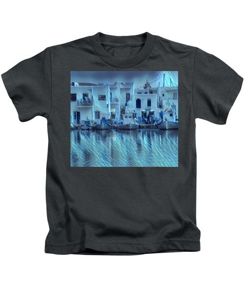 Kids T-Shirt featuring the photograph Paros Island Beauty Greece by Colette V Hera Guggenheim