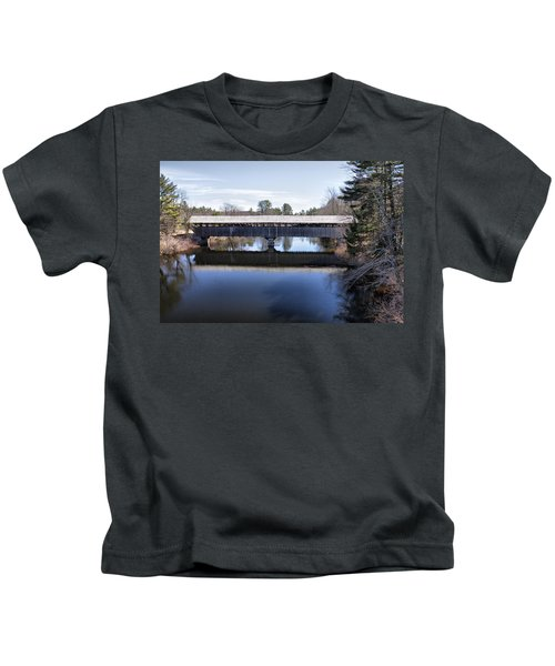 Parsonfield Porter Covered Bridge Kids T-Shirt
