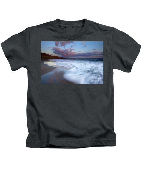Pastel Sunset Tides Kids T-Shirt