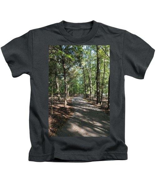 Path Around Lake Kids T-Shirt