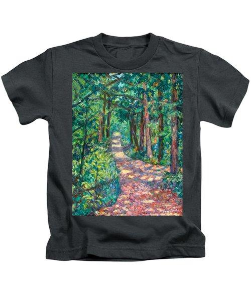 Path On Sharp Top Kids T-Shirt