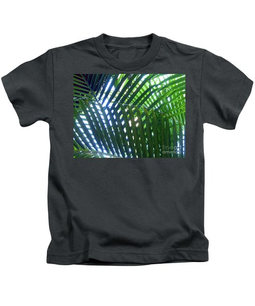 Patterned Palms Kids T-Shirt