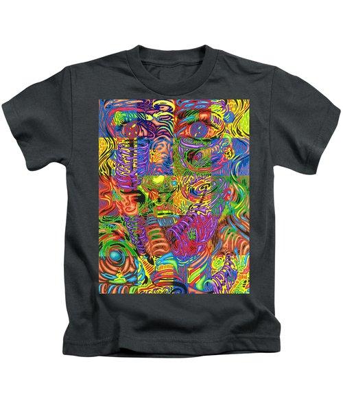 Patterns Of Personality Kids T-Shirt