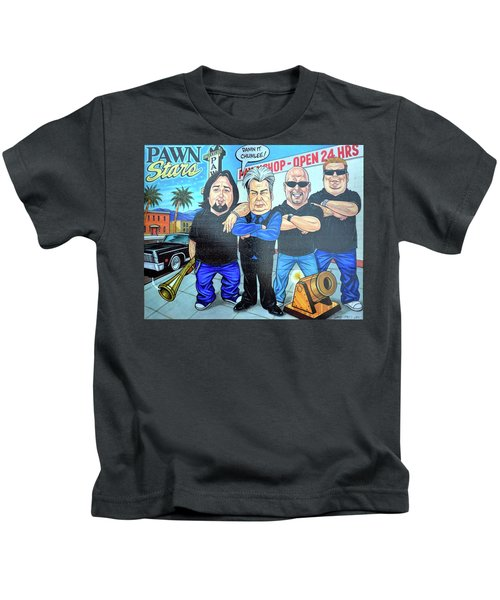 Pawn Stars In Las Vegas Kids T-Shirt