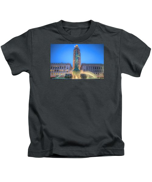 Peace Arising From The Flames Of War Kids T-Shirt