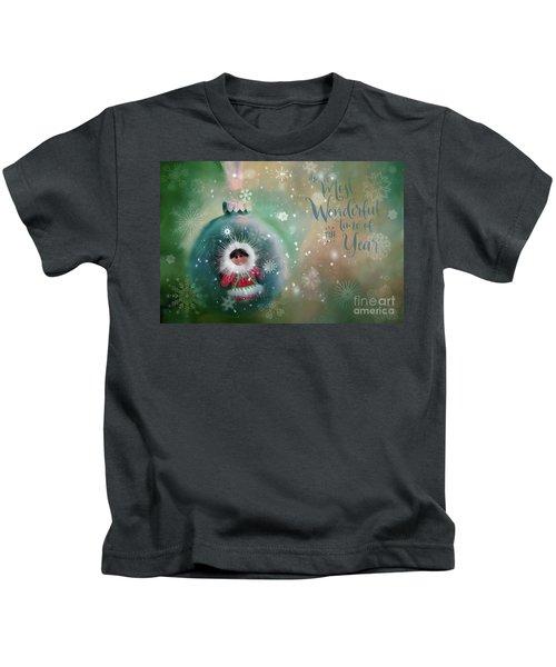 Peace,love,joy Kids T-Shirt