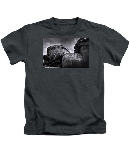 Peak At The Tower Kids T-Shirt