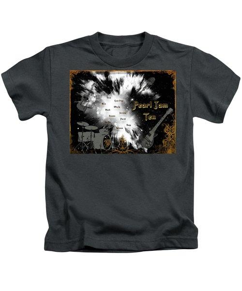 Pearl Jam Ten Kids T-Shirt by Michael Damiani