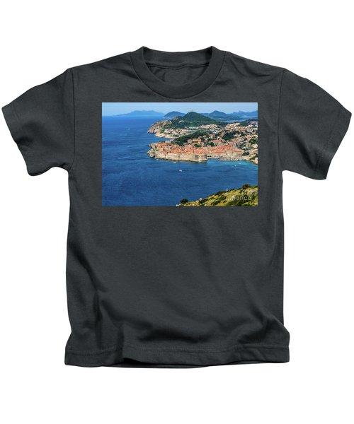 Pearl Of The Adriatic, Dubrovnik, Known As Kings Landing In Game Of Thrones, Dubrovnik, Croatia Kids T-Shirt