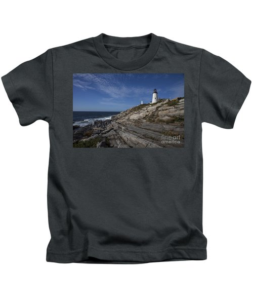 Pemaquid Lightouse Kids T-Shirt