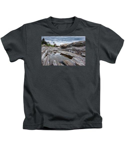 Pemaquid Point Lighthouse Kids T-Shirt