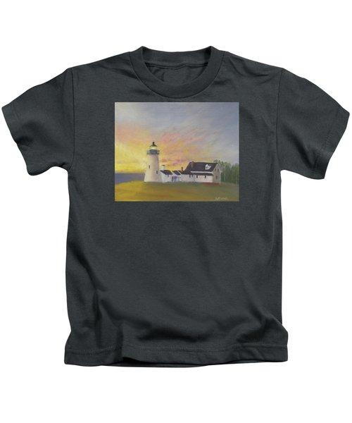Pemaquid's First Light Kids T-Shirt