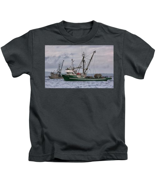 Pender Isle And Santa Cruz Kids T-Shirt